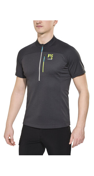 Karpos Roccia Zip Jersey Men dark grey/green